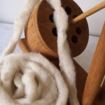Rovings for spinning and felting